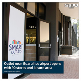 Outlet near Guarulhos airport opens with 90 stores, mini-farm and leisure area