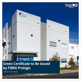 Green Certificate to Be Issued by FIBRA Prologis