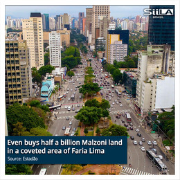Even buys half a billion Malzoni land in a coveted area of Faria Lima
