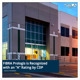 """FIBRA Prologis is Recognized with an """"A"""" Rating by CDP"""