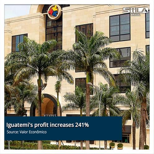 Iguatemi's profit increases 241% in the
