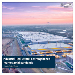 Industrial Real Estate, a strengthened market amid pandemic