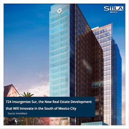 724 Insurgentes Sur, the New Real Estate Development that Will Innovate in the South of Mexico City