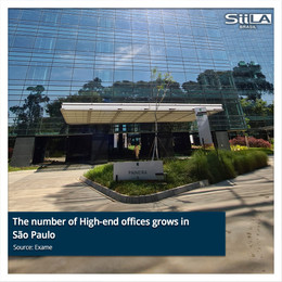 The number of High-end offices grows in São Paulo