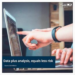 Data plus analysis, equals less risk