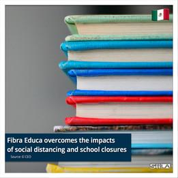 Fibra Educa overcomes the impacts of social distancing and school closures