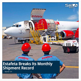 Estafeta Breaks Its Monthly Shipment Record
