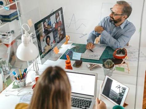 El sector inmobiliario está listo para el trabajo híbrido en las oficinas