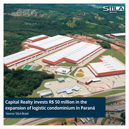 Capital Realty invests R$ 50 million in the expansion of logistic condominium in Paraná