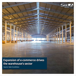 Expansion of e-commerce drives the warehouse's sector