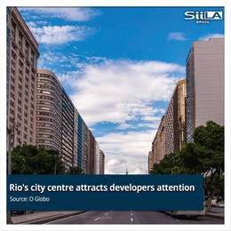 Rio's city centre attracts developers attention