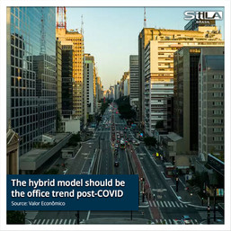 The hybrid model should be the office trend post-COVID