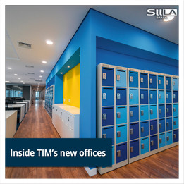 Inside TIM's new offices