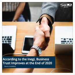 According to the Inegi, Business Trust Improves at the End of 2020