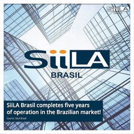 SiiLA Brasil completes five years of operation in the Brazilian market!