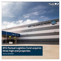 BTG Pactual Logística Fund acquires three high-end properties