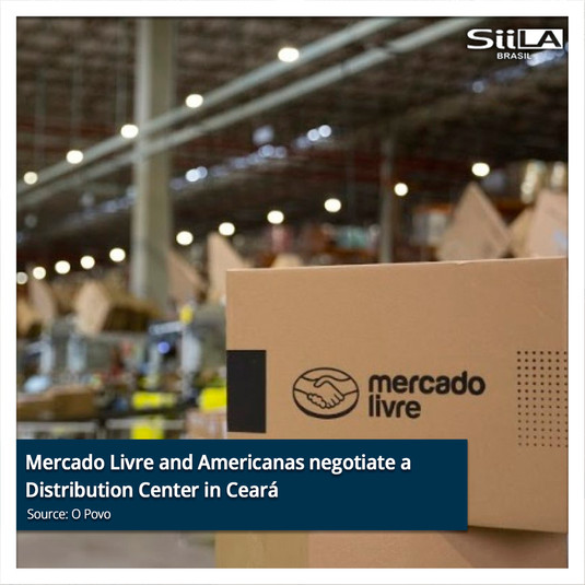 Mercado Livre and Americanas negotiate a Distribution Center in Ceará whilst Amazon is alr