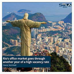 Rio's office market goes through another year of a high vacancy rate