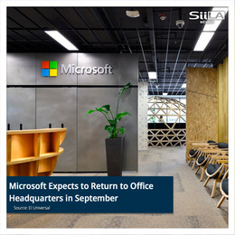 Microsoft Expects to Return to Office Headquarters in September