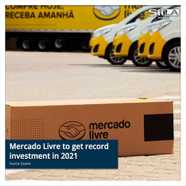 Mercado Livre to get record investment in 2021