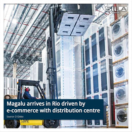 Magalu arrives in Rio driven by e-commerce with distribution centre and stores
