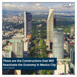 These are the Constructions that Will Reactivate the Economy in Mexico City