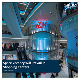 Space Vacancy Will Prevail in Shopping Centers