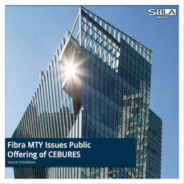 Fibra MTY Issues Public Offering of CEBURES