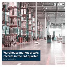 Warehouse market breaks records in the 3rd quarter