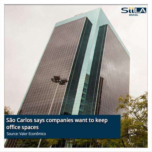 São Carlos says companies want to keep o