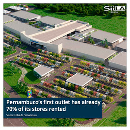Pernambuco's first outlet has already 70% of its stores rented