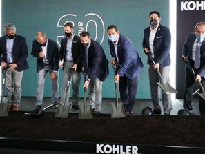 Inician construcción de la nueva planta de Kohler en Guanajuato