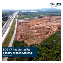 LOG CP has started its construction in Gravataí