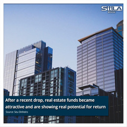 After a recent drop, real estate funds became attractive and are showing real potential for return