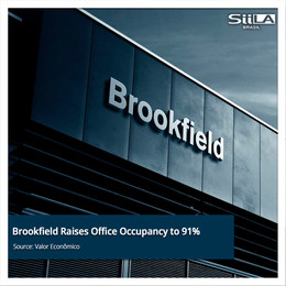 Brookfield Raises Office Occupancy to 91%