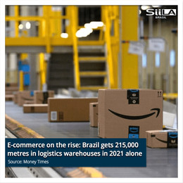 E-commerce on the rise: Brazil gets 215,000 metres in logistics warehouses in 2021 alone