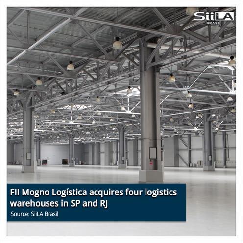 FII Mogno Logística acquires four logist