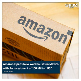 Amazon Opens New Warehouses in Mexico with An Investment of 100 Million USD