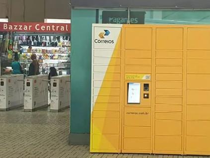 Correios instalam primeiro armário inteligente em São Paulo
