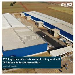 BTG Logística celebrates a deal to buy and sell CBP Ribeirão for R$169 million