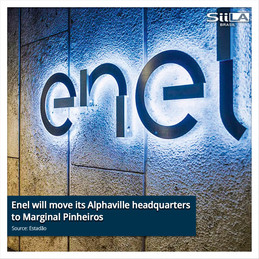 Enel will move its Alphaville headquarters to Marginal Pinheiros