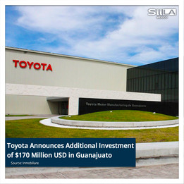 Toyota Announces Additional Investment of $170 Million USD in Guanajuato