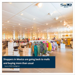 Shoppers in Mexico are going back to malls and buying more than usual