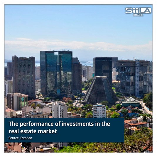The performance of investments in the re