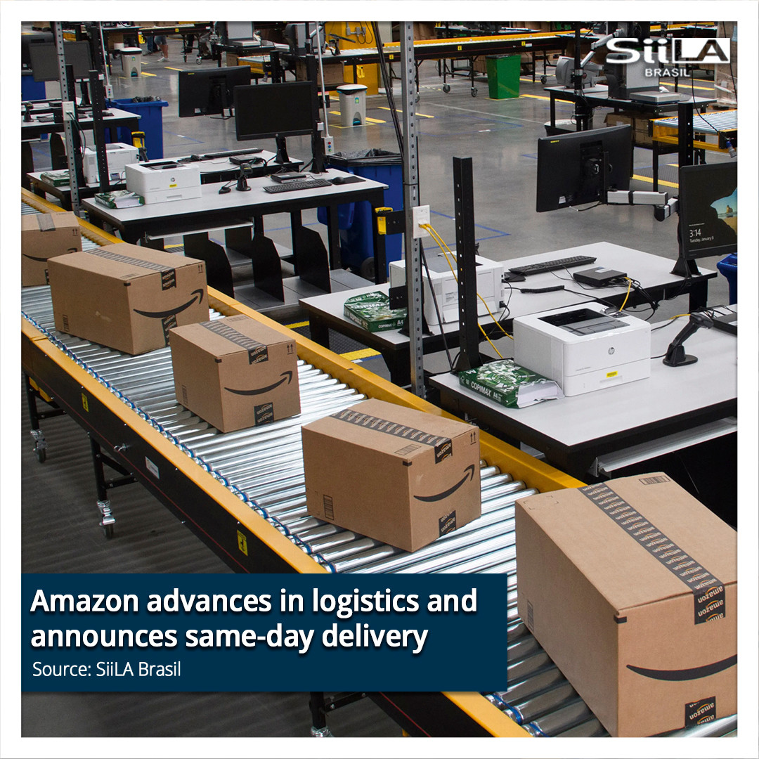 Amazon advances in logistics and announc