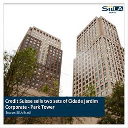 Credit Suisse sells two sets of Cidade Jardim corporate