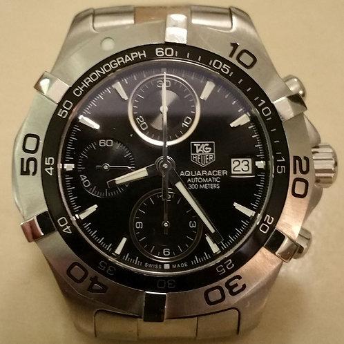 "#01071 TAG HEUER ""Aquaracer"", Automatic, Date Chronograph"