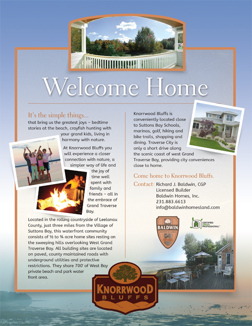Baldwin Homes Advertising