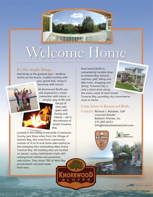 Baldwin Homes Advertising