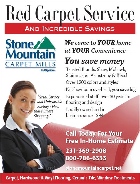 Stone Mountain Carpets Advertising